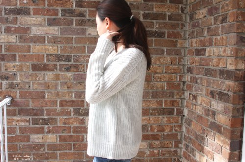 Open-Back Shaker Knit