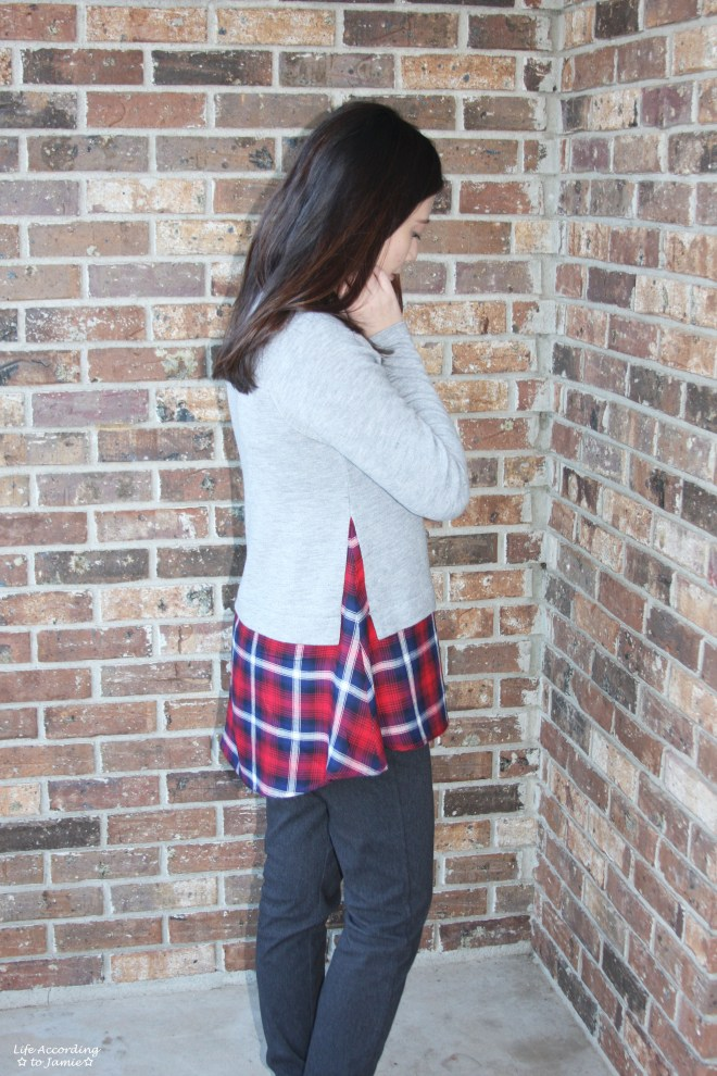Plaid Layered Top 4