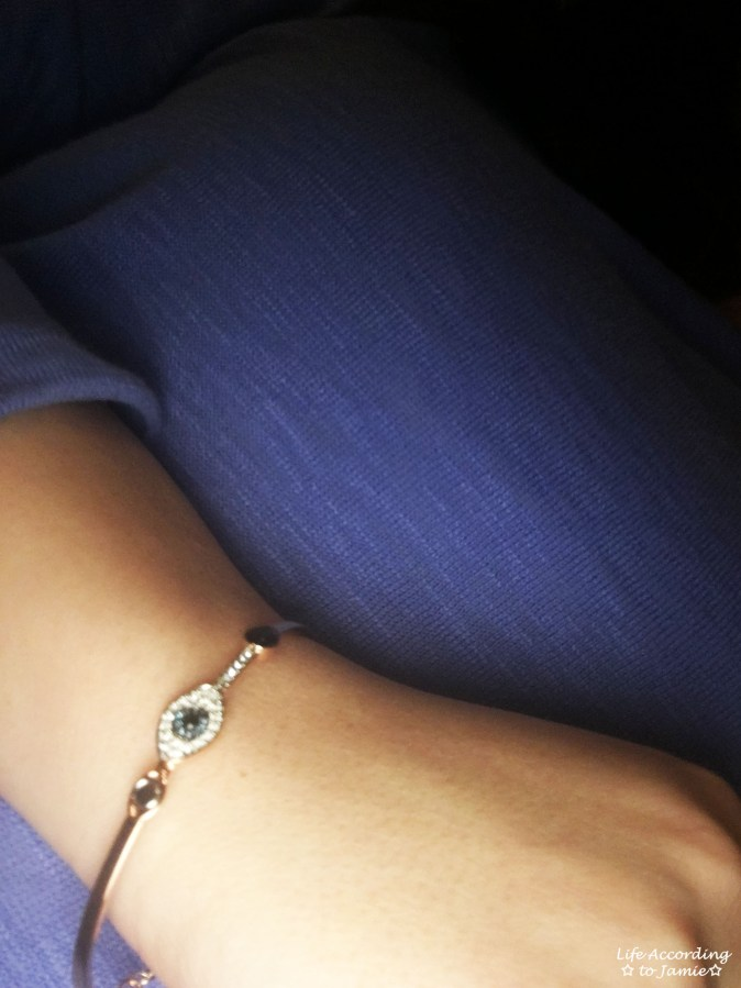 Swarovski Duo Evil Eye Bangle 2