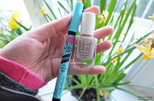 Turquoise Nail Art Pen & Lillian Eve Nail Polish