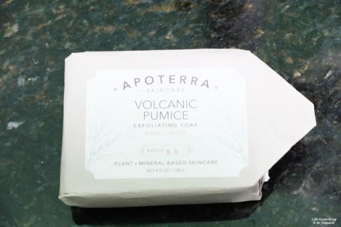 Apoterra Exfoliating Soap