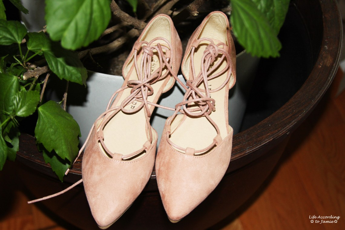Chinese Laundry - Lace-Up Flats