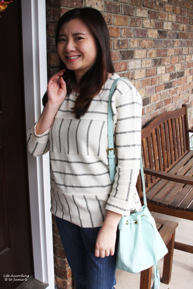 Mint Cream Bucket Bag 5