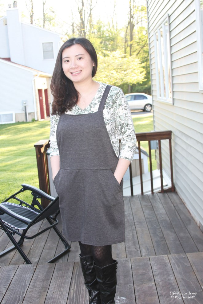 Grey Pinafore 4