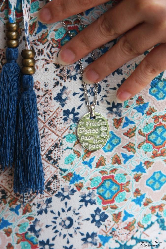 Modern Design Inc - Peace Necklace