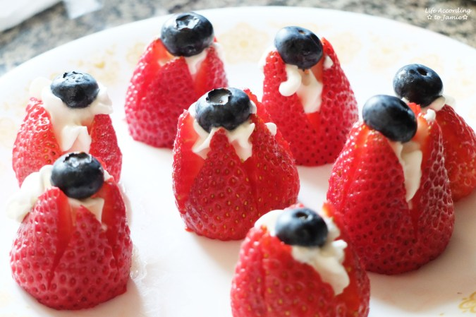Blueberry Filled Strawberry 2