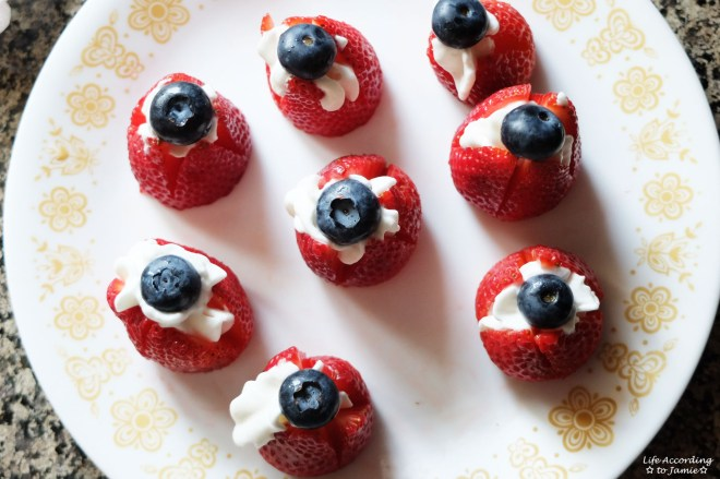 Blueberry Filled Strawberry