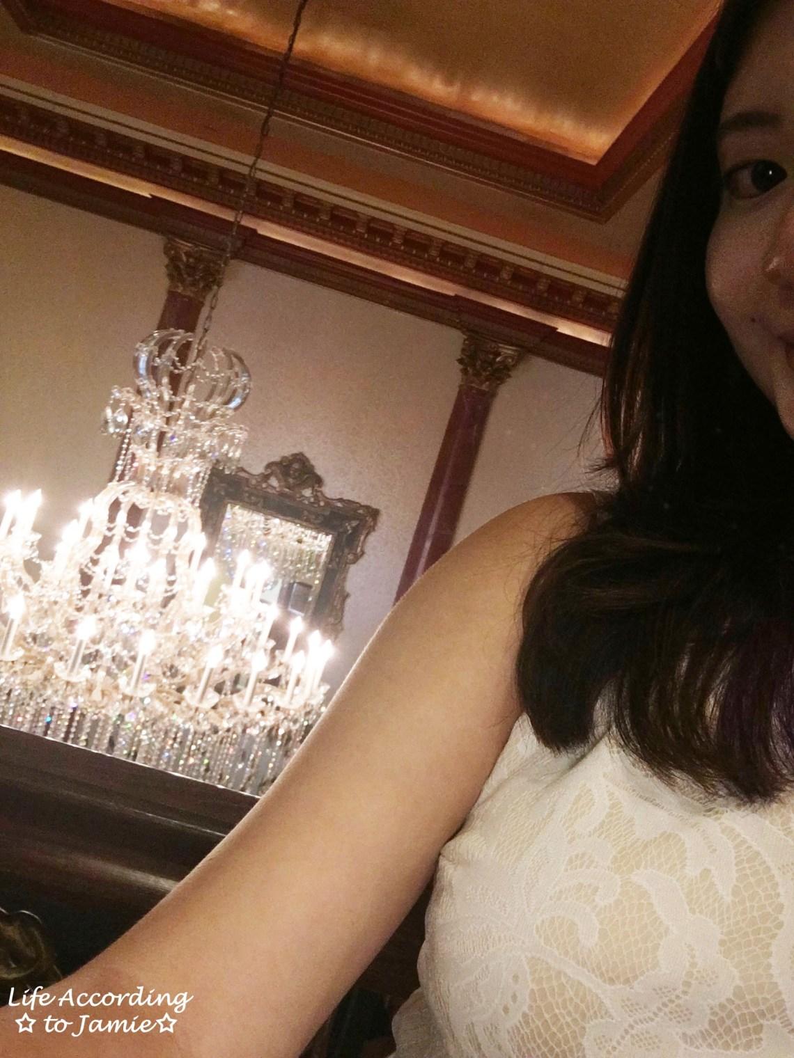 Chandelier Selfie