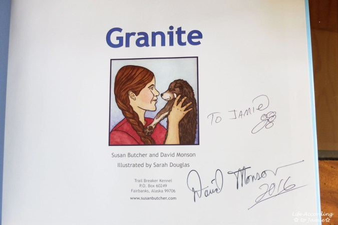 Granite - Signed Book