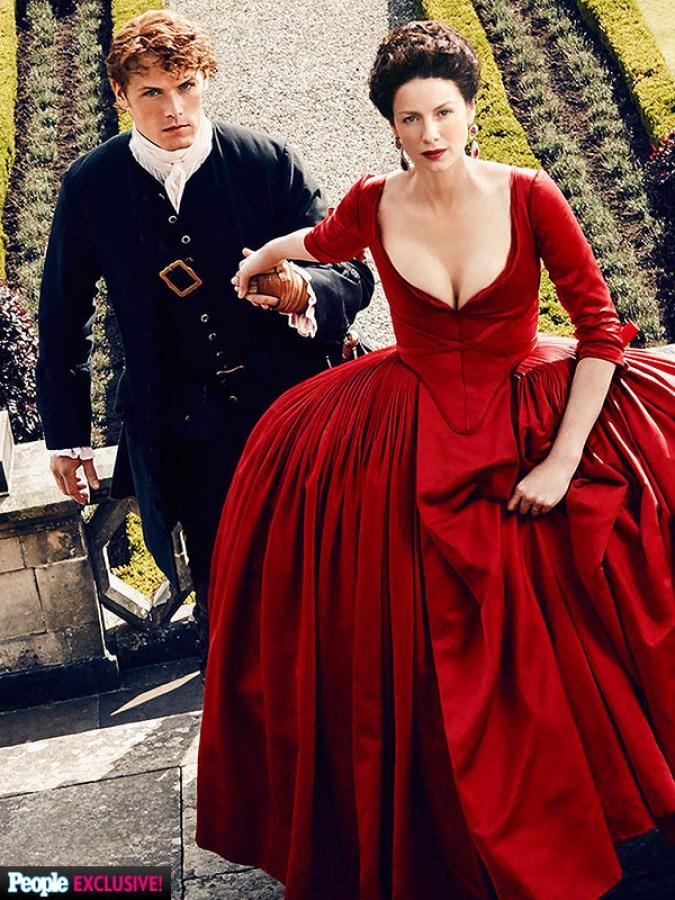 Outlander - Red Dress