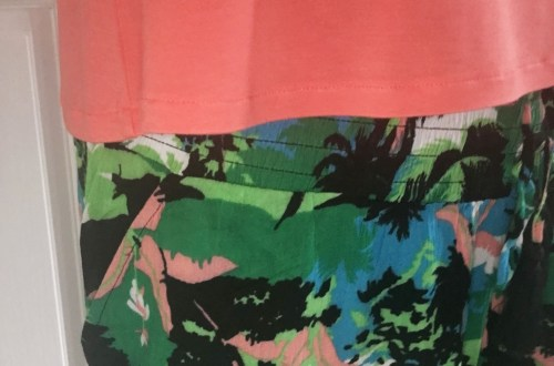 Tropical Harem Pants