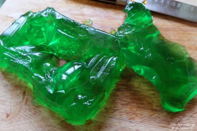 Green Jello-O
