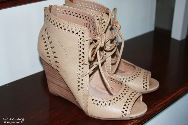 Lace Up Wedges 1