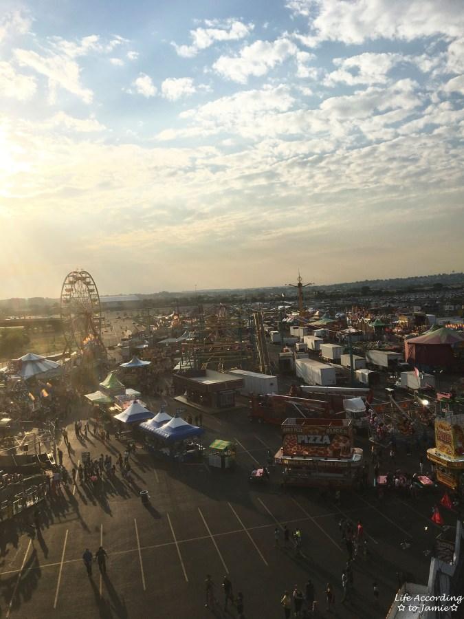 NJ State Fair - Ferris Wheel View