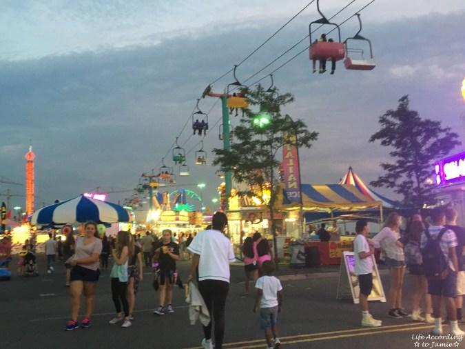 NJ State Fair - Night time