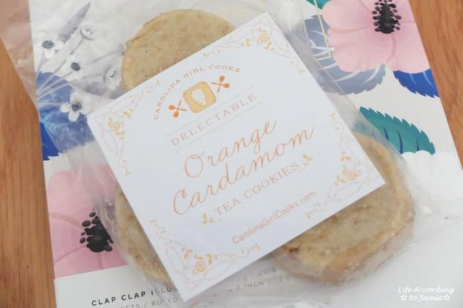 Orange Cardamom Tea Cookies