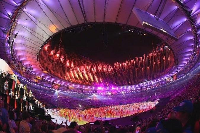 rio opening ceremony fireworks