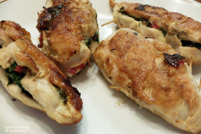 Spinach & Mushroom Stuffed Chicken 5