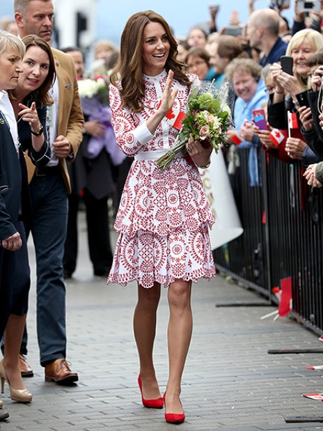 Royal Tour of Canada-Day two