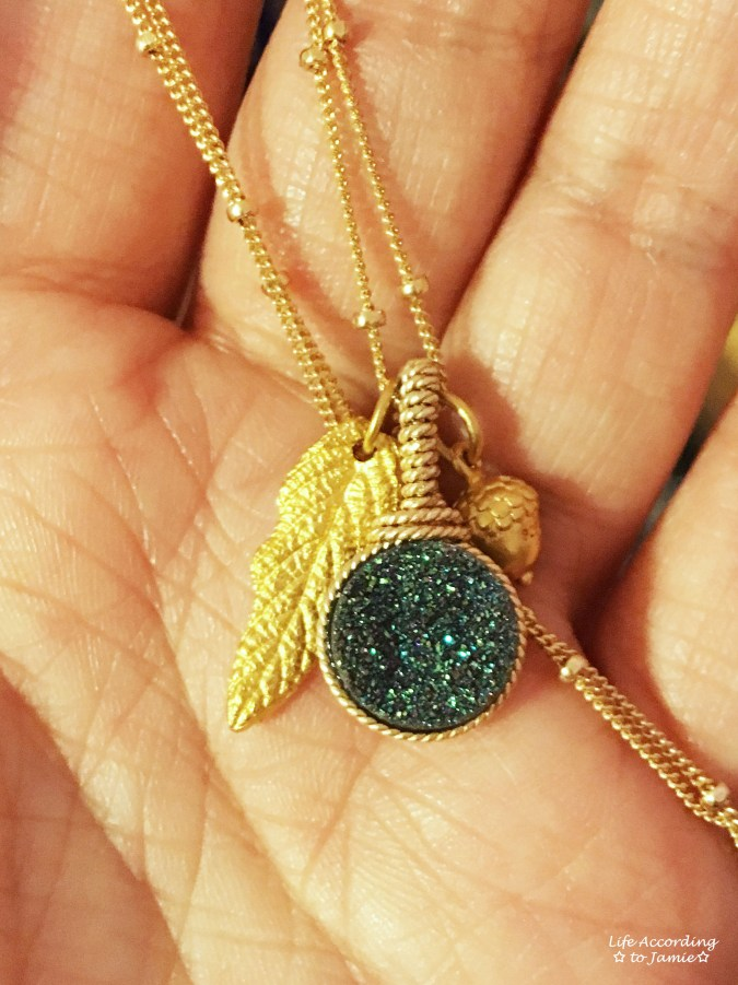 bareandme-fall-druzy-and-leaf-necklace-6