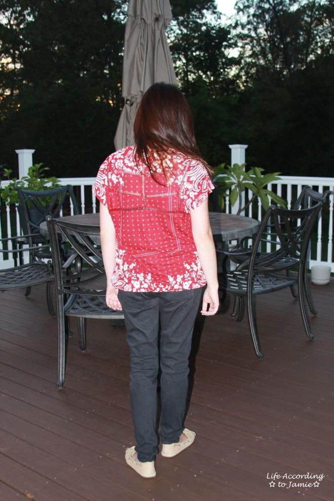 red-white-bandana-print-top-back