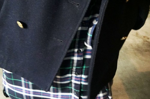 gap + pendleton blue-green-plaid-dress