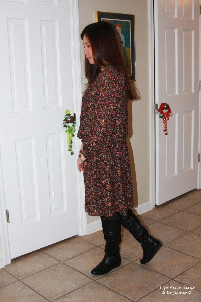 hydrangea-print-blouson-dress-3