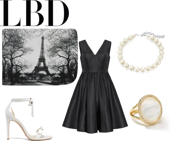 little-black-dress polyvore