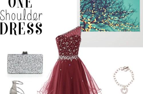 one-shoulder-party-dress
