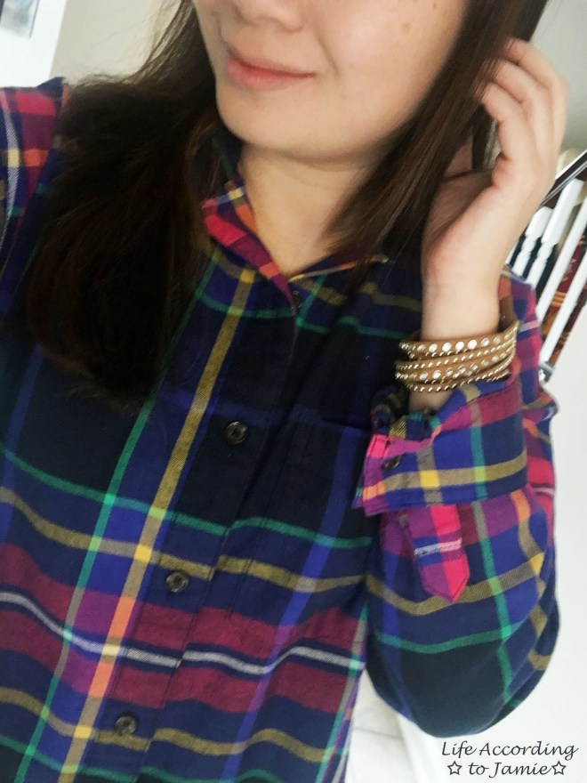 rainbow-plaid-stud-double-wrap-bracelet-1