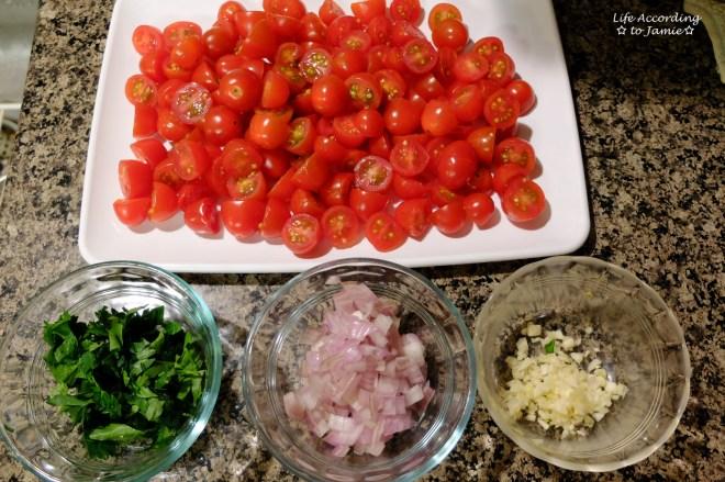 creamy-shrimp-tomato-pasta-food-prep