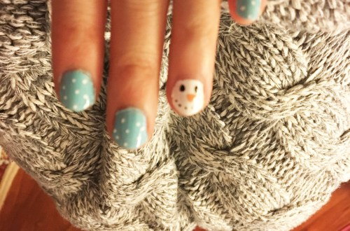 snowman-winter-nails