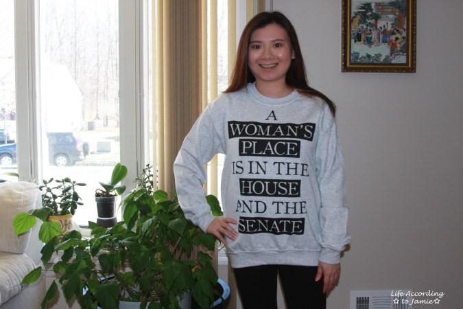 A Woman's Place - Sweatshirt