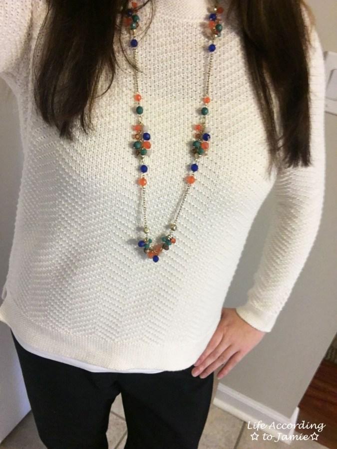 Chevron Texture Sweater 3