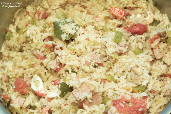 Crawfish Jambalaya 4