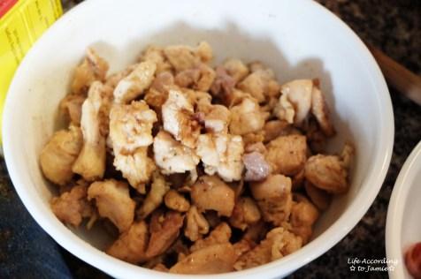 Crawfish Jambalaya - Chicken