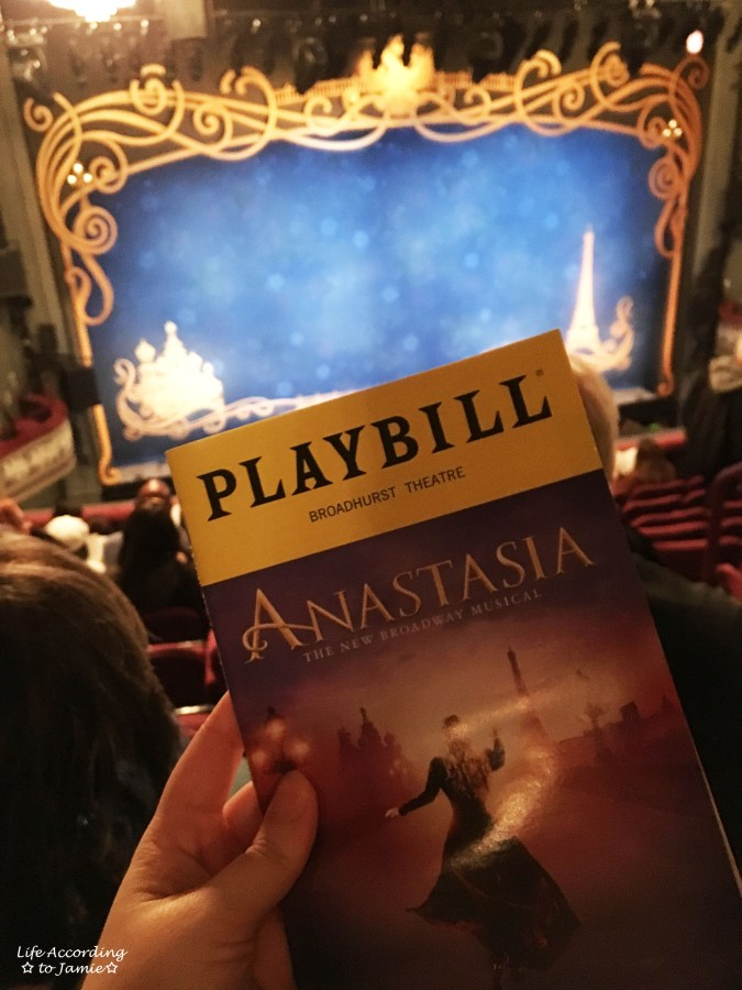 Anastasia on Broadway 1