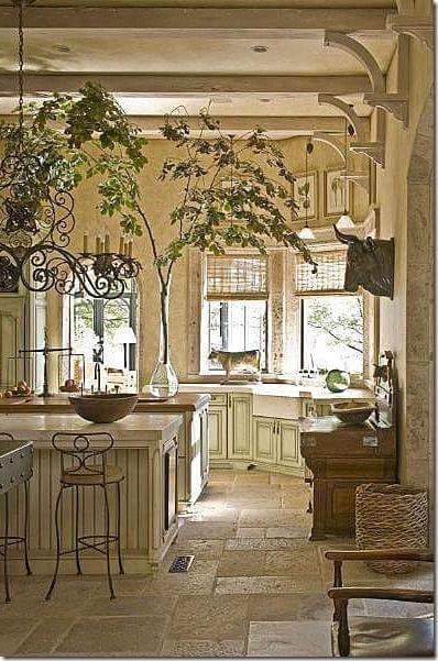 french country kitchen inspiration 1