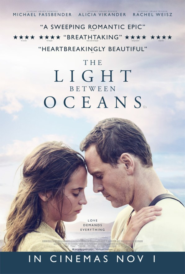 the light between oceans movie poster