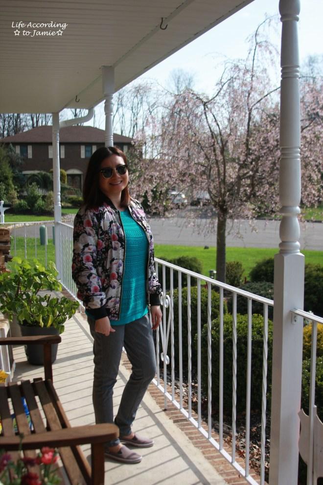 Floral Bomber Jacket 3