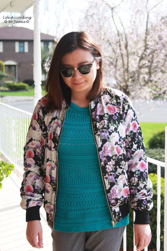 Floral Bomber Jacket 4