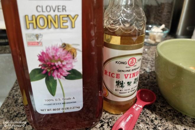 Honey + Rice Vinegar