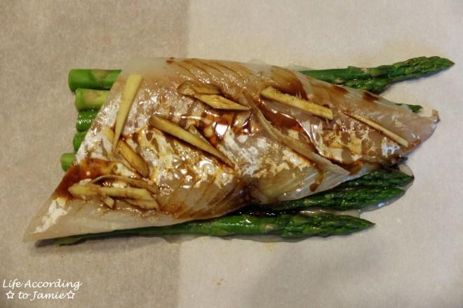 Parceled Cod + Asparagus 1