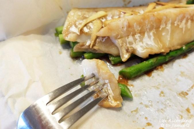 Parceled Cod + Asparagus 6