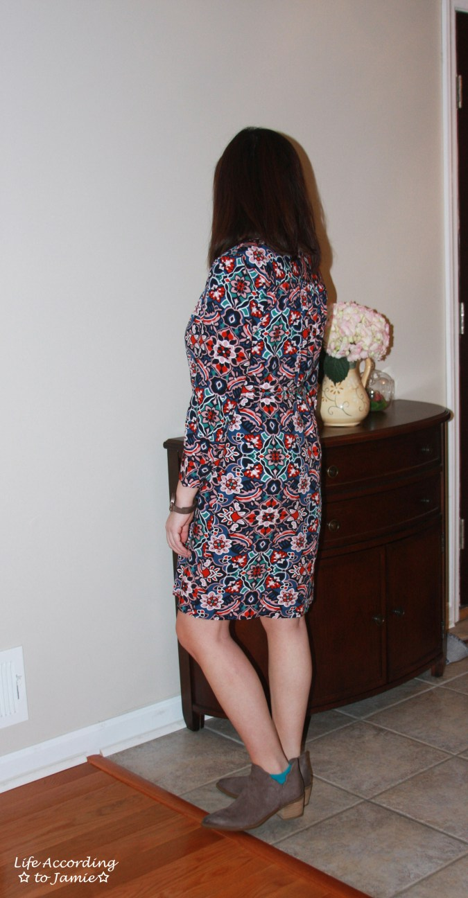 Stained Glass Shirt Dress 4