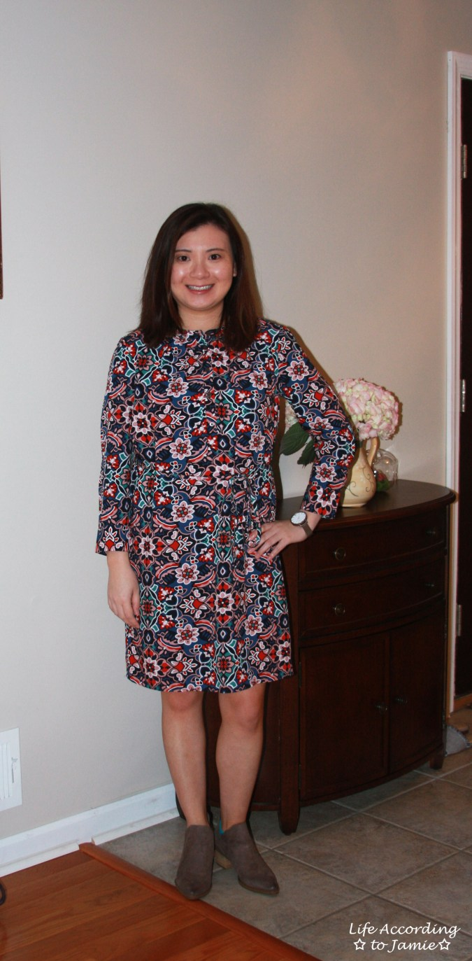 Stained Glass Shirt Dress