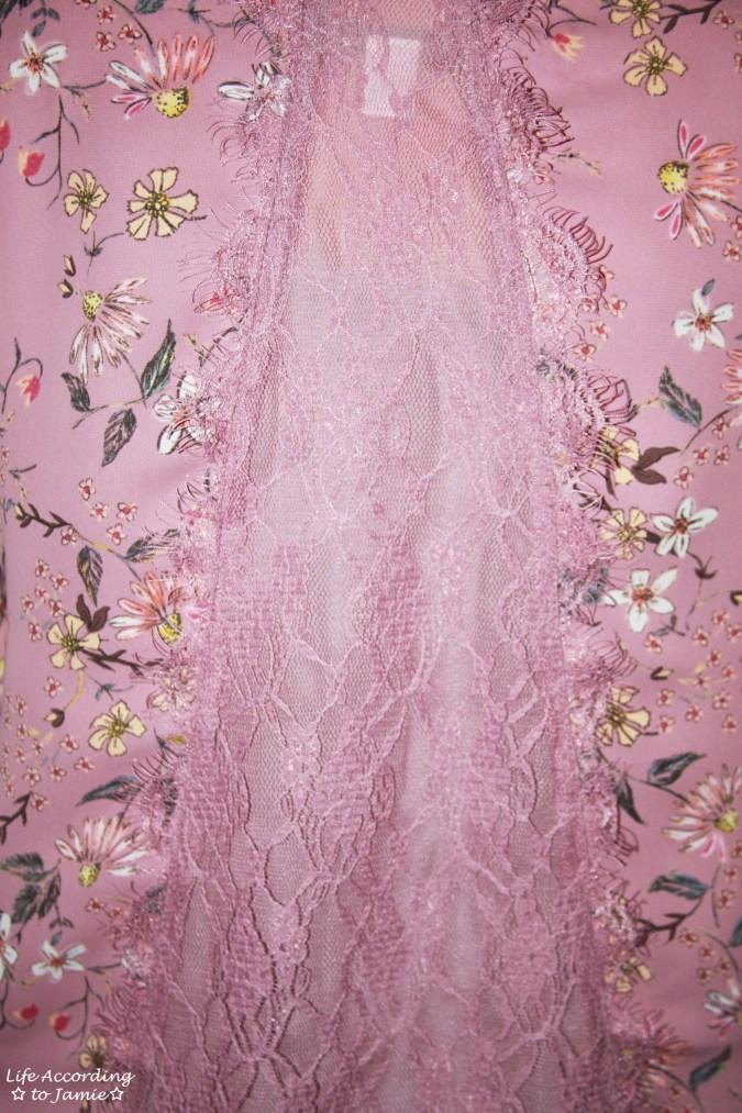 Daisy Mauve + Lace Trim 8