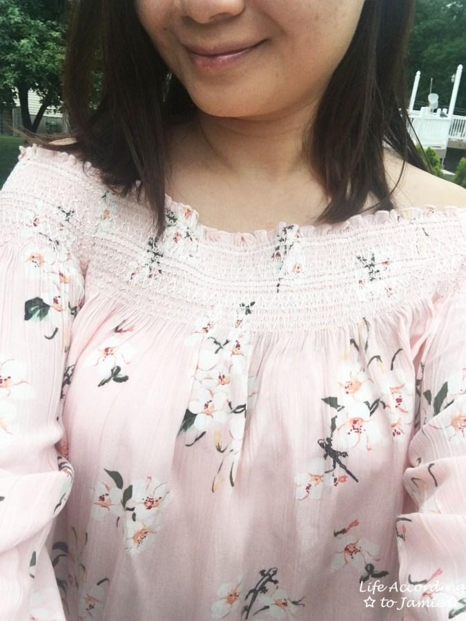 Pink Floral OTS 10