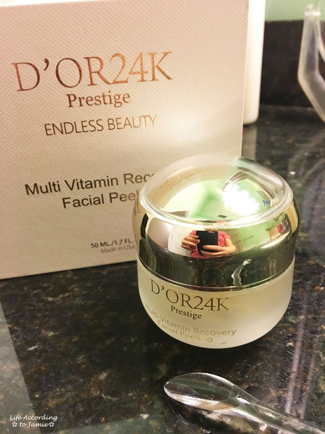 D'Or 24K Facial Peeling
