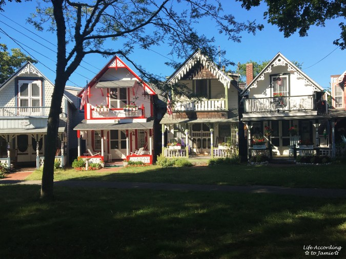 Martha's Vineyard - Gingerbread Houses 1